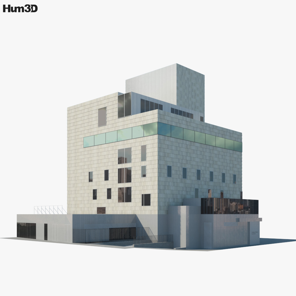 The New Art Gallery Walsall 3d model