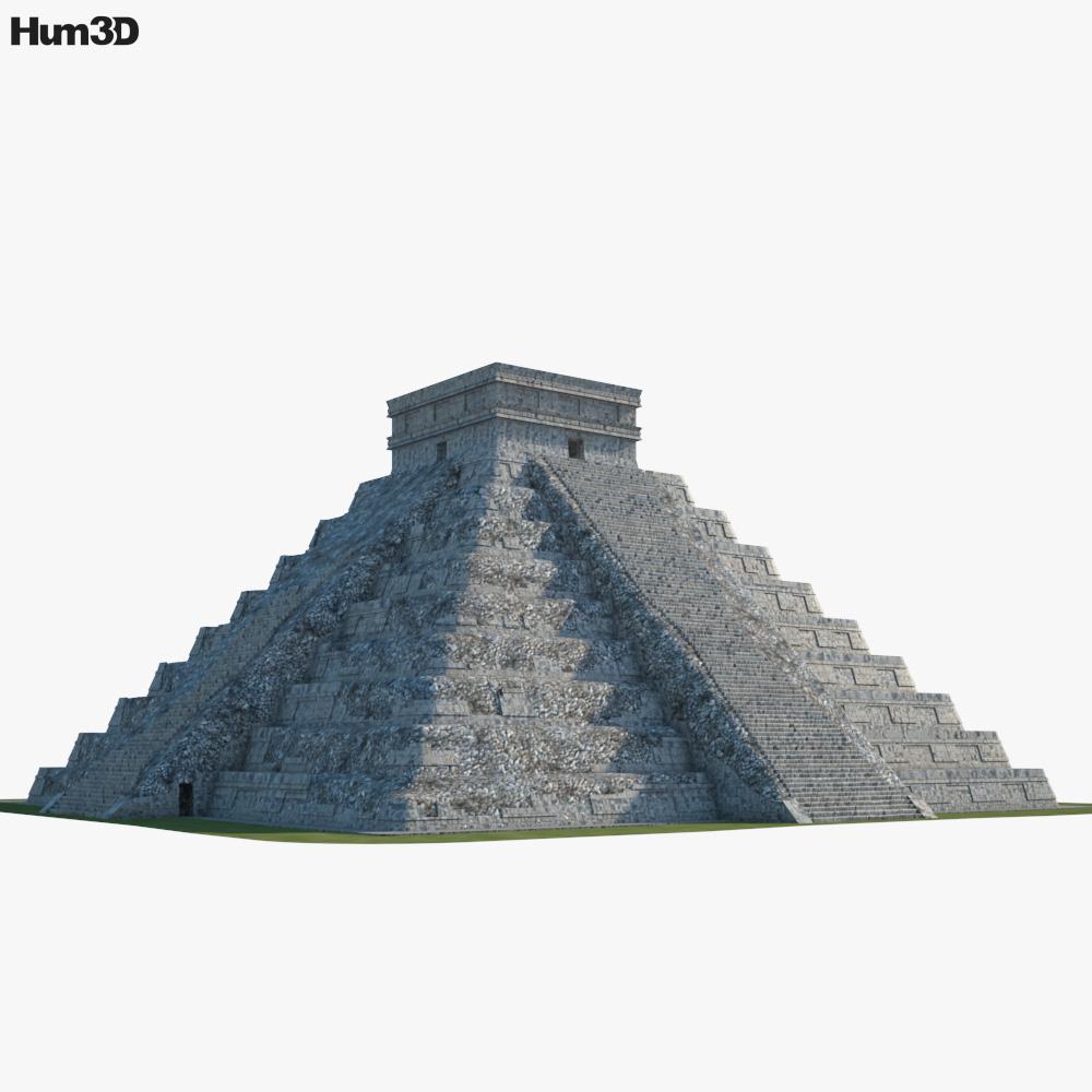 Pyramid of Kukulkan 3d model