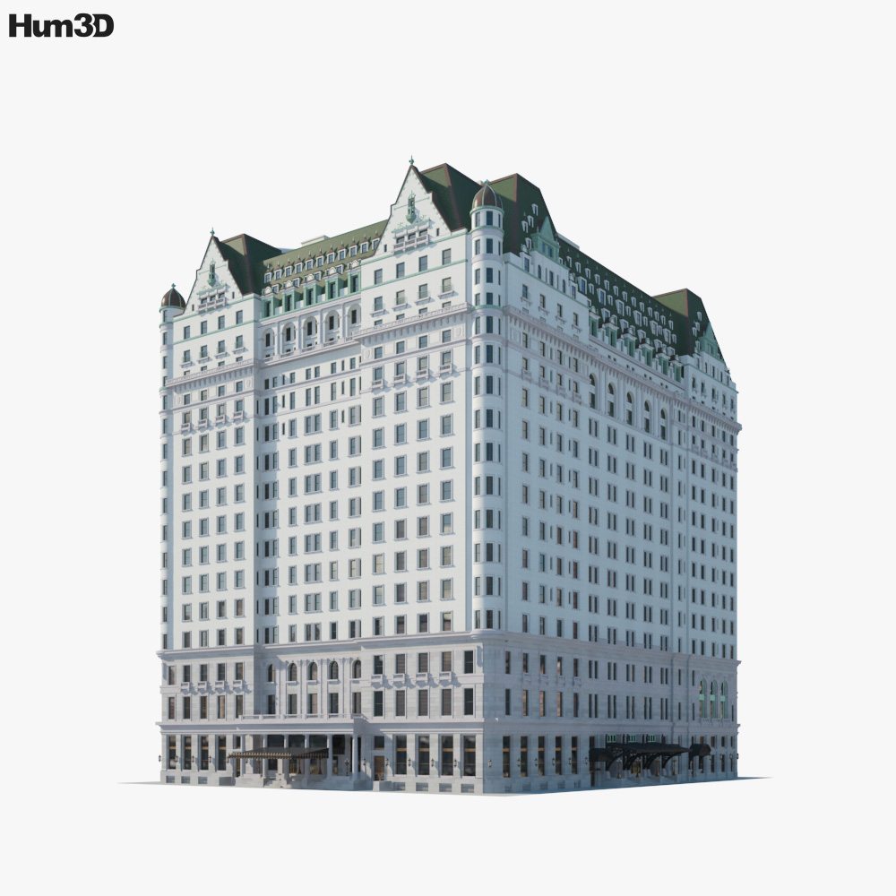 Plaza Hotel 3d model