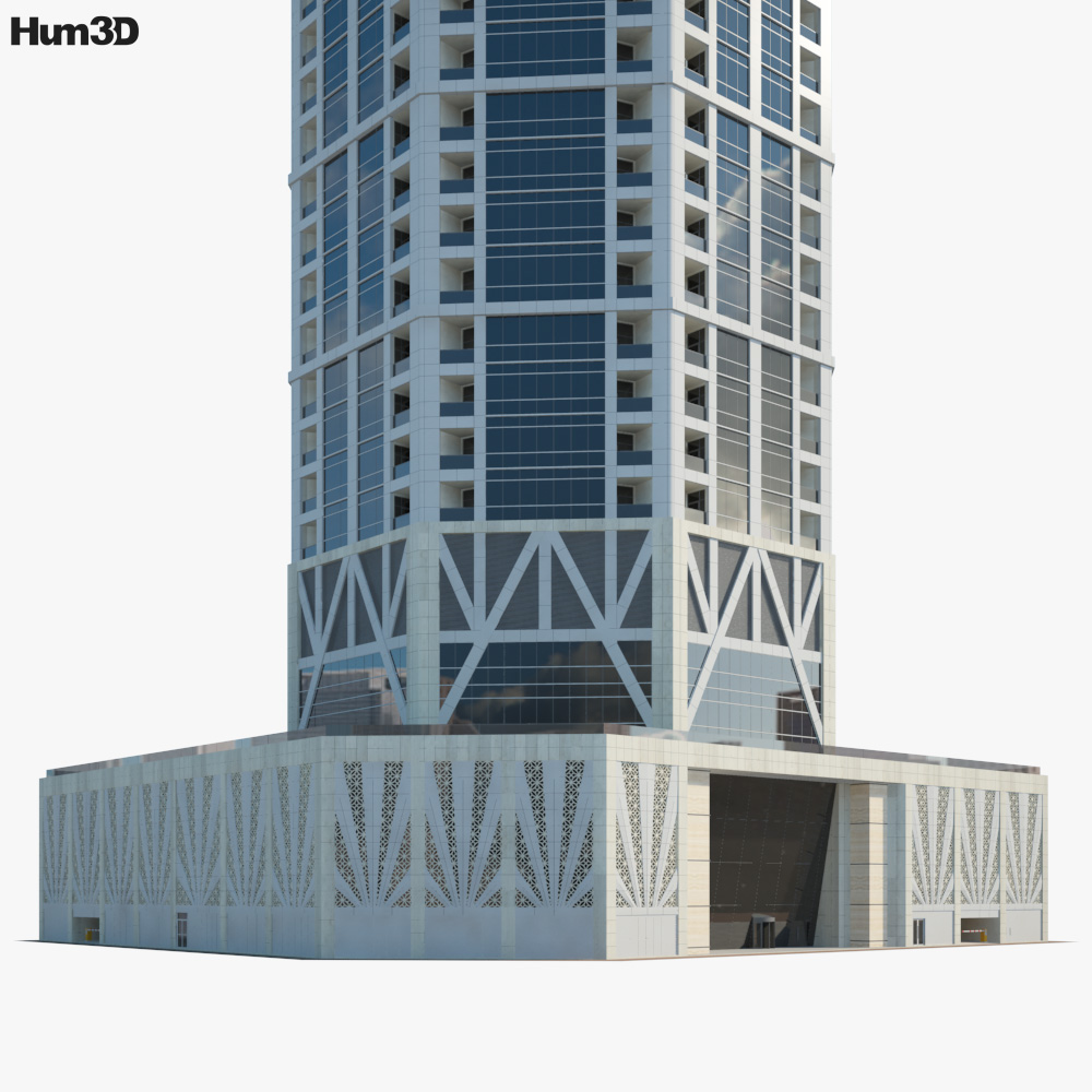 23 Marina Tower 3d model