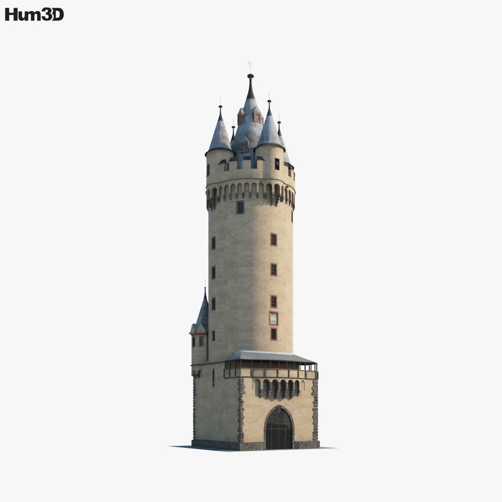 Eschenheimer Turm 3d model