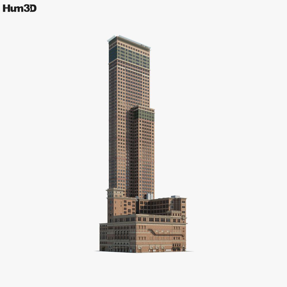 Carnegie Hall 3d model