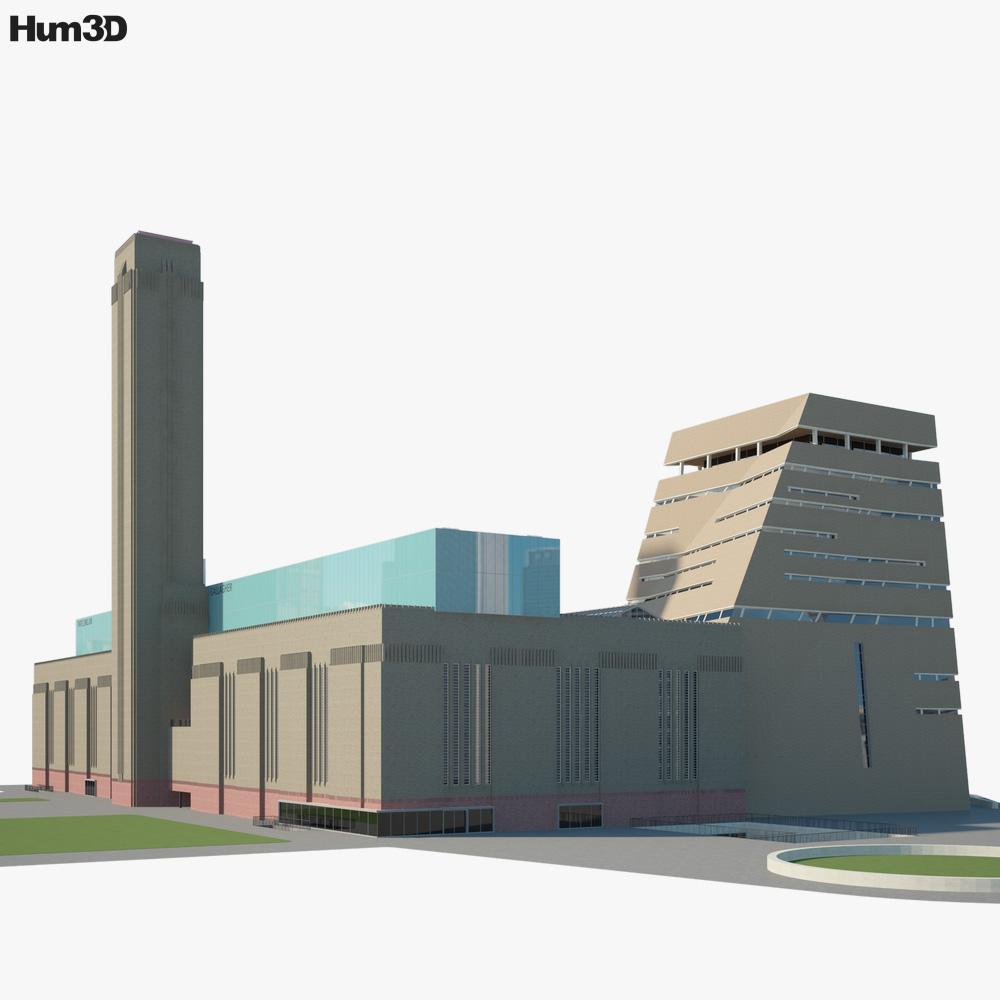 Tate Modern 3d model