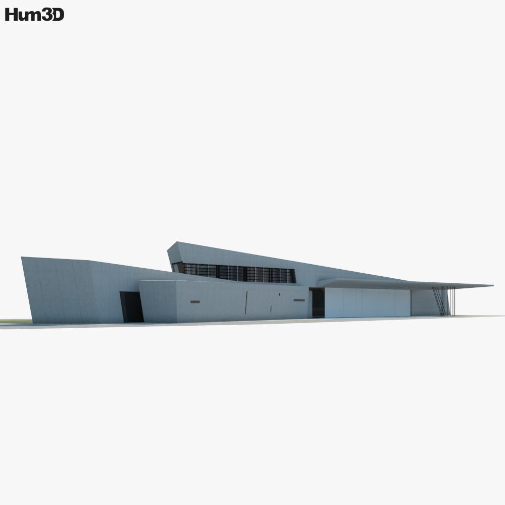 Vitra Fire Station 3d model