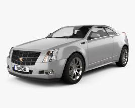 Cadillac CTS 2011 3D model