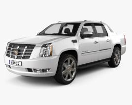 Cadillac Escalade EXT 2011 3D model