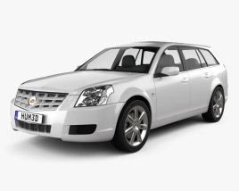 Cadillac BLS wagon 2009 3D model