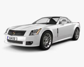Cadillac XLR 2009 3D model