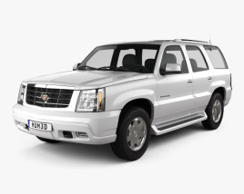 Cadillac Escalade 2002 3D model