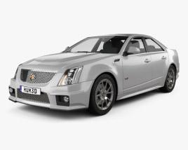 Cadillac CTS-V sedan 2009 3D model