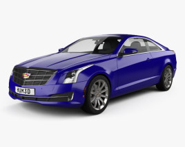 Cadillac ATS coupe 2015 3D model