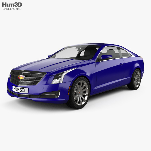 Cadillac ATS Coupe 2015 3D Model