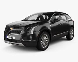 Cadillac XT5 2016 3D model