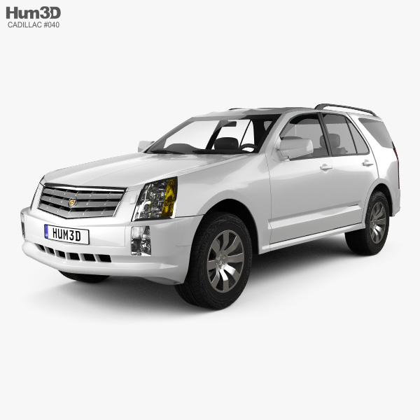 Cadillac 2013 Srx: Cadillac SRX 2005 3D Model