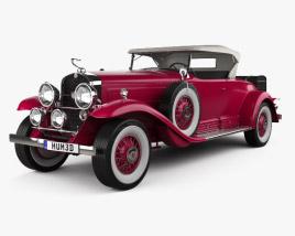 Cadillac V-16 Roadster 1930 3D model