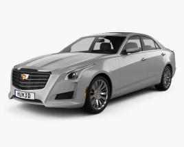 Cadillac CTS Premium Luxury 2017 3D model
