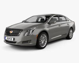 Cadillac XTS Platinum 2017 3D model