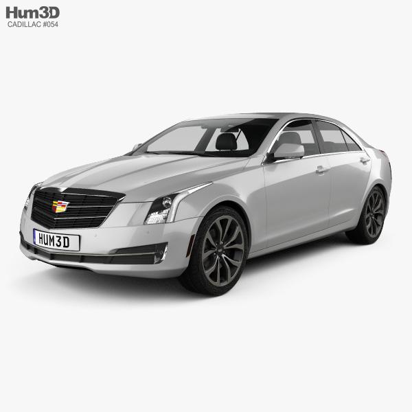 Custom Cadillac Ats: Cadillac ATS Premium Performance Sedan 2017 3D Model