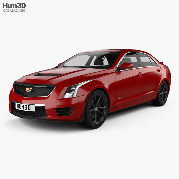 Cadillac ATS-V Sedan 2017 3D Model