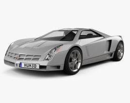 Cadillac Cien concept 2002 3D model