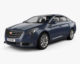 Cadillac XTS 2018 3D model