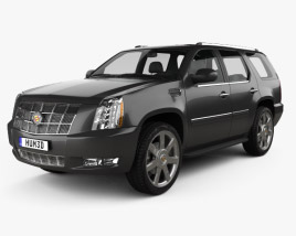 Cadillac Escalade 2012 3D model