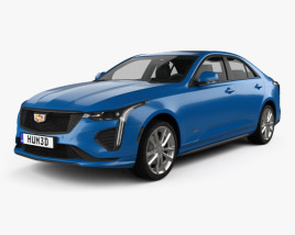 Cadillac CT4 V 2020 3D model
