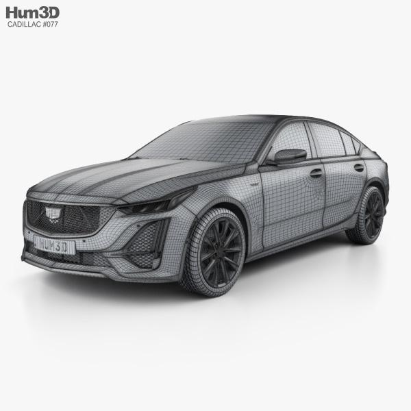 Cadillac CT5 V 2020 3D model _ hum3d Cadillac CT5 V 2020 Cadillac CT5 V 2020