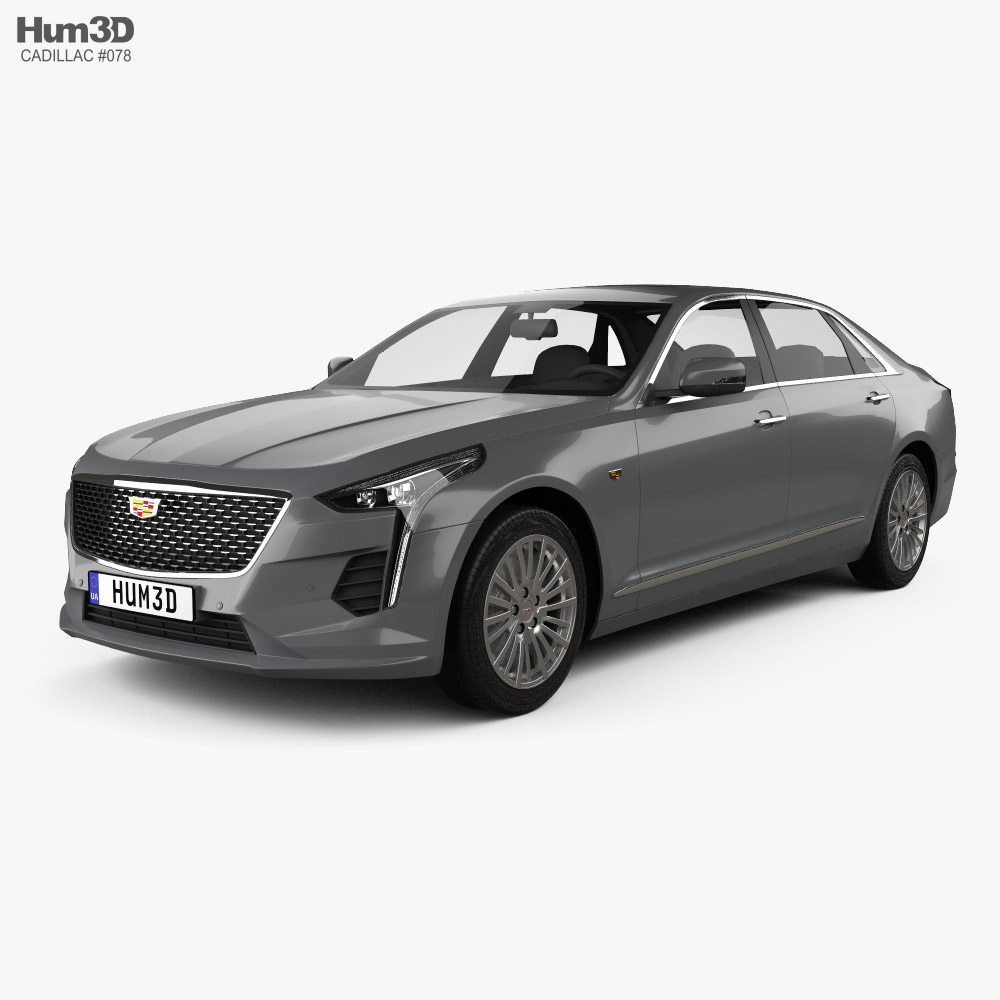 Cadillac CT6 CN-spec 2020 3d model