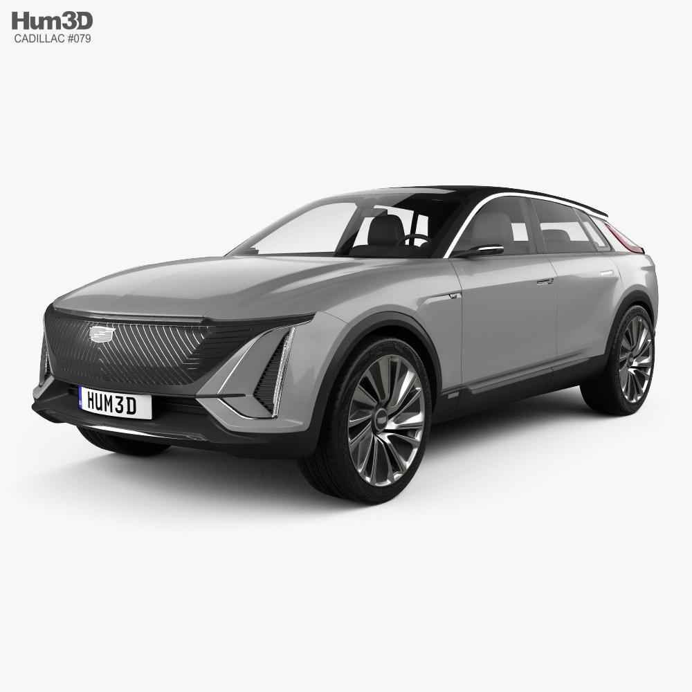 Cadillac Lyriq 2020 3d model