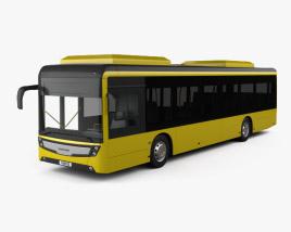 Caetano e-City Gold Bus 2016 3D model