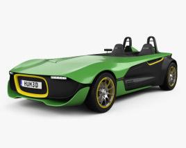 Caterham AeroSeven 2013 3D model