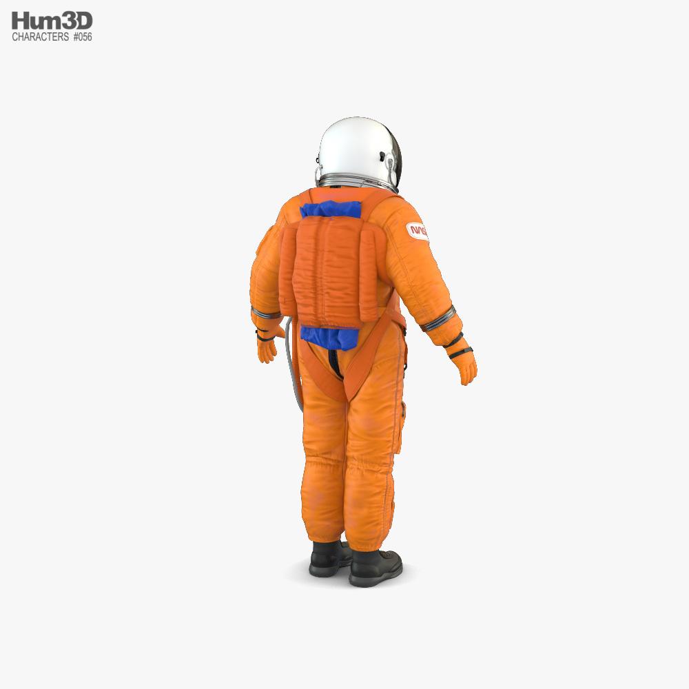 Space Suit NASA ACES 3d model