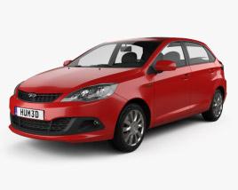 Chery A13 (Fulwin 2) Mk2 hatchback 2012 3D model
