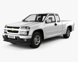 Chevrolet Colorado Extended Cab 2012 3D model