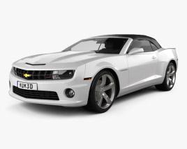 Chevrolet Camaro 2SS RS Convertible 2011 3D model