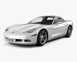 Chevrolet Corvette (C6) 2011 3D model