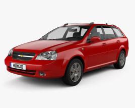 Chevrolet Lacetti Wagon 2011 3D model