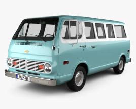Chevrolet Sport Van 1968 3D model