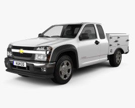 Chevrolet Colorado Hotshot I Lowboy 2011 3D model