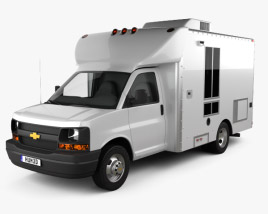Chevrolet Express Mobile Vending 2003 3D model