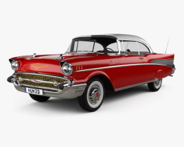 Chevrolet Bel Air Sport Coupe 1957 3D model