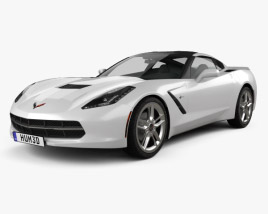 Chevrolet Corvette Stingray (C7) Coupe 2014 3D model