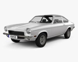 Chevrolet Vega hatchback 1971 3D model