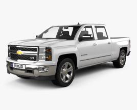 Chevrolet Silverado Crew Cab LTZ 2014 3D model