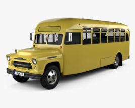 Chevrolet 6700 School Bus 1955 3D model
