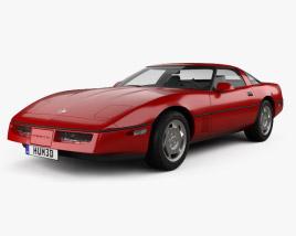 Chevrolet Corvette (C4) coupe 1983 3D model