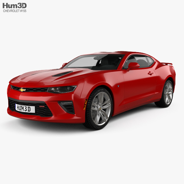 Chevrolet Camaro Ss Coupe 2016 3d Model Vehicles On Hum3d