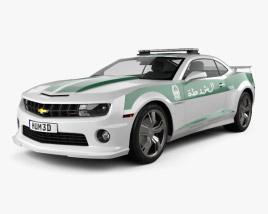 Chevrolet Camaro Police Dubai 2013 3D model