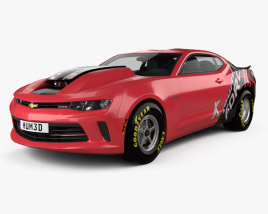 Chevrolet Camaro COPO 2016 3D model